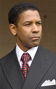 "Denzel Washington: Denzel Hayes Washington, Jr. (born December 28, 1954) in ""American Gangster"""
