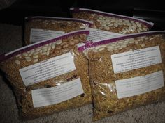 Ezekiel bread mixes. Super healthy, great gift idea!