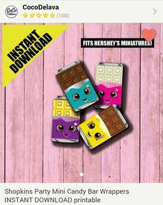Cheeky Chocolate Printable Mini Candy Bar Wrapper - Etsy