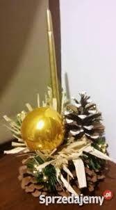 Znalezione obrazy dla zapytania brązowe stroiki świąteczne