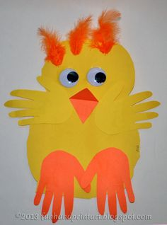 Baby+handprint+easter+chick+craft.jpg 400×540 pixels