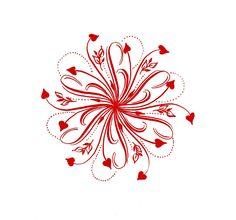 Lettering Lady: 2017 Valentine Mandala