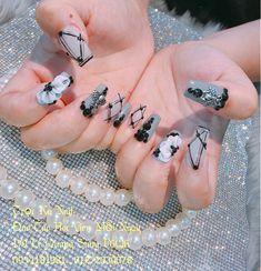 Gắn đá Móng dài Posh Nails, Sexy Nails, Cute Nails, Pretty Nail Colors, Pretty Nails, Vn Nails, 3d Nail Designs, Butterfly Nail Art, Design Salon