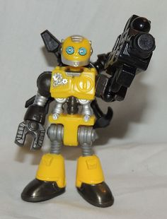 NEW Fisher Price IMAGINEXT Collectible, Blind Bag Robot Yellow  Series 1 #FisherPrice