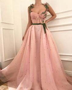 Unique sweetheart neck tulle long prom dress, tulle evening dress, Customized service and Rush order are available Evening Dress Long, Muslim Evening Dresses, Pink Evening Gowns, Cheap Evening Dresses, Baby Pink Dresses, Pink Gowns, Ball Gown Dresses, Dress Prom, Sweetheart Prom Dress