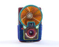 Hawkeye Starflash: Kathy Wegman: Beaded Sculpture | Artful Home