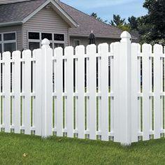 11. Dog Ear Shadow Box Picket Fence