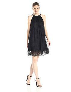 Adrianna Papell Women's Babydoll Embroidered Neckline Dress, Black, 2 Adrianna Papell http://www.amazon.com/dp/B014WSTK9W/ref=cm_sw_r_pi_dp_f.-twb0VVWBGY
