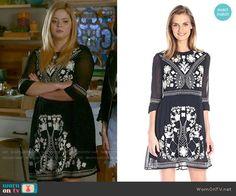 French Connection Kiko Dress worn by Sasha Pieterse on PLL