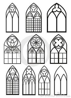 Upper gothic arch options.