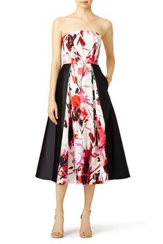Rent Floral Gweney Dress by Sachin & Babi for $135 only at Rent the Runway.