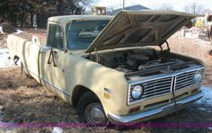 4600A.JPG - 1973 International Harvester truck, Model 1110, 54,801 miles, Inactive for approximately 10 years, S...