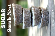 These sugar scrub bars are so simple to make, portable, make great gifts, and will make your skin feel amazing! http://thepaleomama.com/2015/05/sugar-scrub-bars/