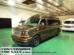 2014 GMC Savana 9 Passenger Amura Presidential Conversion Van