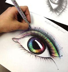 Eye See Love 8x10 Print on 11 x 14 black mat by michellecuriel