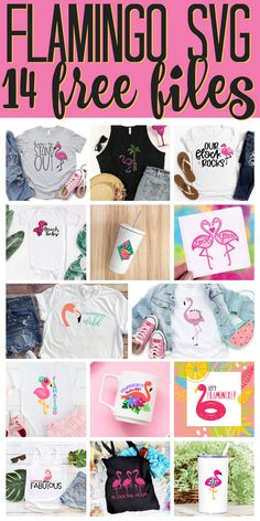 Get 14 free flamingo SVG files for all of your Cricut and Silhouette crafts! Free Svg Files Monogram, Cricut Svg Files Free, Free Monogram, Monogram Frame, Flamingo Party Supplies, Flamingo Craft, Cricut Explore Projects, Fun Crafts, Vinyl Crafts