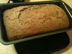 HEALTHY Whole-Wheat Banana Bread