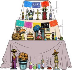Anatomy of a Day of the Dead altar - Chicago Tribune