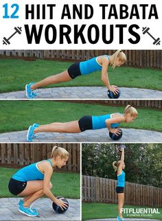 Workout Roundup- 12 TABATA AND HIIT WORKOUTS