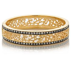 Add a touch of dazzling style to your ensembles with this filigree Indian bangle from the FERN FINDS: Jewellery Collection.