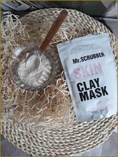 Mr. Scrubber Skin Hydrating Clay Mask Review - Beauty by Sunshine Clay Masks, Coconut Flakes, Sunshine, Lifestyle, Beauty, Beleza, Nikko