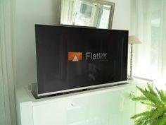 TV Unsichtbar im Wohnzimmer verbaut