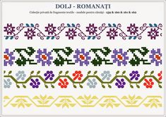 Find Beading Inspiration With Cross Stitch Patterns! Folk Embroidery, Learn Embroidery, Cross Stitch Embroidery, Embroidery Patterns, Beaded Cross Stitch, Cross Stitch Borders, Cross Stitch Patterns, Loom Beading, Beading Patterns