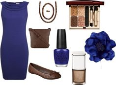 """Brown Sapphire"" by byteme on Polyvore"