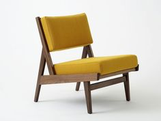 Via Viaduct  | Jens Risom Armless Chair | Mid Century