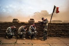 Edouard Elias documented soldiers that were sent by France, including a large number of foreign legionnaires, in the Central African Republic: http://blog.leica-camera.com/photographers/interviews/edouard-elias-the-foreigners/ © Edouard Elias / Reportage by Getty Images