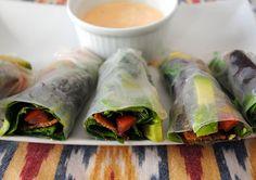 #GlutenFree BLT Spring Rolls! The perfect summertime appetizer.