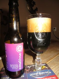Emelisse Imperial Russian Stout 11% ,really nice smokey stout,great....