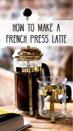 to Make a Latte Using a French Press How to make the perfect cup of coffee or latte with your French Press.How to make the perfect cup of coffee or latte with your French Press. French Coffee, Coffee Love, Hot Coffee, Coffee Cups, Coffee Maker, Coffee Beans, Coffee Shop, Coffee Machine, Krups Coffee