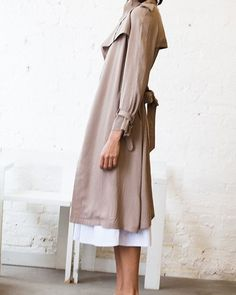 Trench coat #minimalist #fashion #style
