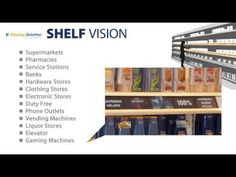 Digital Signage - Shelf Vision Multi LCD Lines for POS