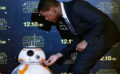 """""""Me: listen you moving soccer ball I need you to fix your attitude and answer my calls! Don't let all of this get to your head! BB-8 : John I'm taking pictures at the moment can you stop touching me."""""""