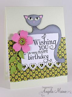 F4A195 Cat Lover's Birthday