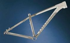 2013 Brand New Niner Air 9 Bike Frame Size Large (L) White Raw Color