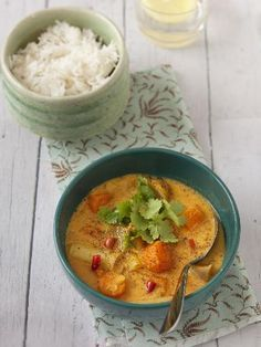 Soupe de légumes entiers à l indienne