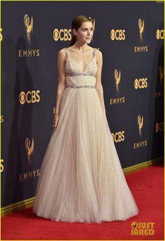 Kiernan Shipka Wows in Miu Miu at Emmy Awards 2017