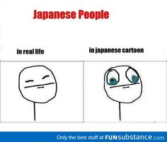 Japanese people's eyes