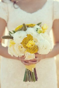 This would be a pretty color combo for Abigail's bouquet if she went with mustard shoes. @abbey Landrum @Rachel Landrum