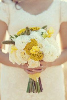 LOVE LEMON!  #yellow #wedding #theme #love #marryme #diamondsinternational #style