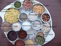how to make health mix at home /sathumavu kanji powder Healthy wealthy food is our basic need in our day today life without any age barrier.Most of the time we mothers are unable to tackle their fo… Baby Food Recipes, Indian Food Recipes, Cooking Recipes, Healthy Recipes, Healthy Foods, Veg Recipes, Healthy Eats, Recipies, Homemade Spices