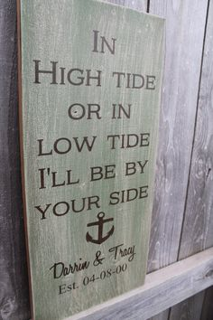 Wedding Sign  Beach Wedding Sign  Green Beach Decor  by Wildoaks, $38.00