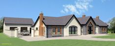 Northern Ireland Bungalow Plans - House For Rent Near Me Modern Bungalow House Plans, Dormer Bungalow, Bungalow Floor Plans, Bungalow Exterior, Bungalow House Design, New House Plans, Bungalow Designs, Small Bungalow, Bungalow Ideas