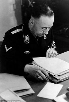 Fresh extracts from Himmler's diary detail instructions for the Holocaust At…