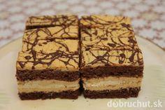 Parádne karamelové rezy Brownie Cupcakes, Wedding Desserts, Sweet And Salty, Russian Recipes, Desert Recipes, Graham Crackers, No Bake Cake, Just Desserts, Amazing Cakes