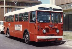 WCT 317 05/03/1985 Lambton Terminal, Wellington, NZ Wellington City, Busse, New Zealand, Transportation, Trucks, London, Vintage, Places, Autos