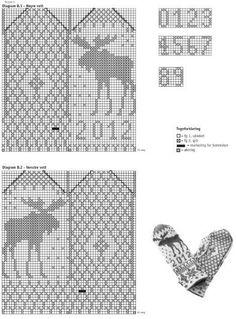 91069. järbo garn älgvante Knitting Yarn, Knitting Patterns, Crochet Patterns, Filet Crochet, Knit Crochet, Stick O, Textiles, Charts And Graphs, Knitted Gloves